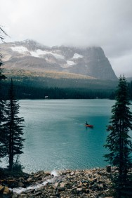 Canadians and their canoes!