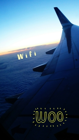 How advanced is Sweden?!?!?! Wifi on a plane. It was a revolution. Can't wait for this to appear in Canada.