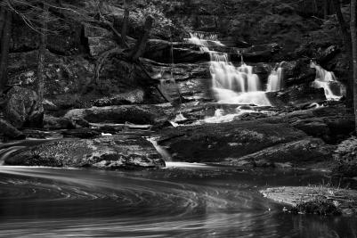 Circles and Waterfalls
